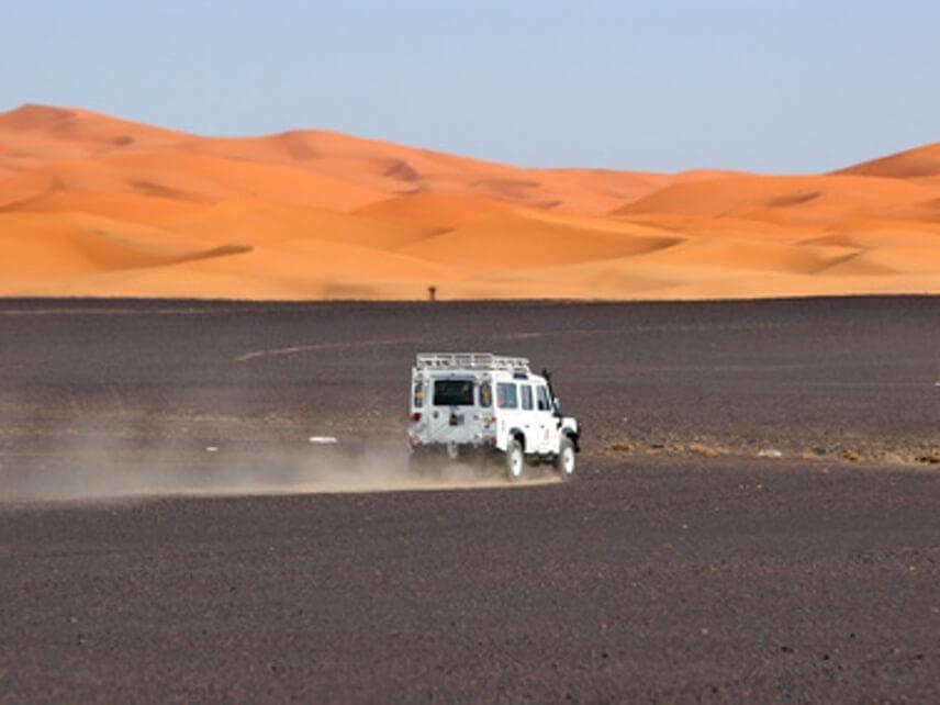 Offroading into the Desert
