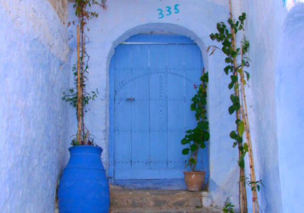 The blues of Chefchouen are mysteriously rich and vibrant
