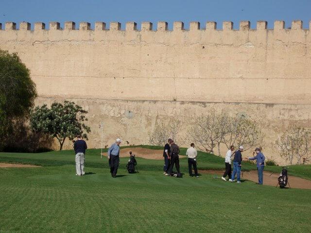 Golfing in the Meknes Medina