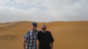 Ira and Jamal in desert 1 (1)