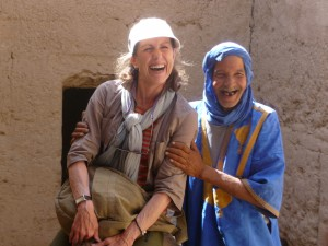 Donna Laughing Man