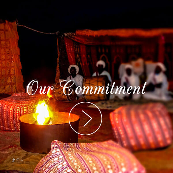 Morocco tours commitment